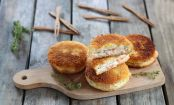 Mini Croque-Monsieur mit Lachs