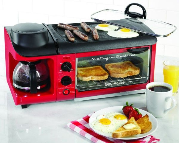 We Want It: The 3-1 Breakfast machine