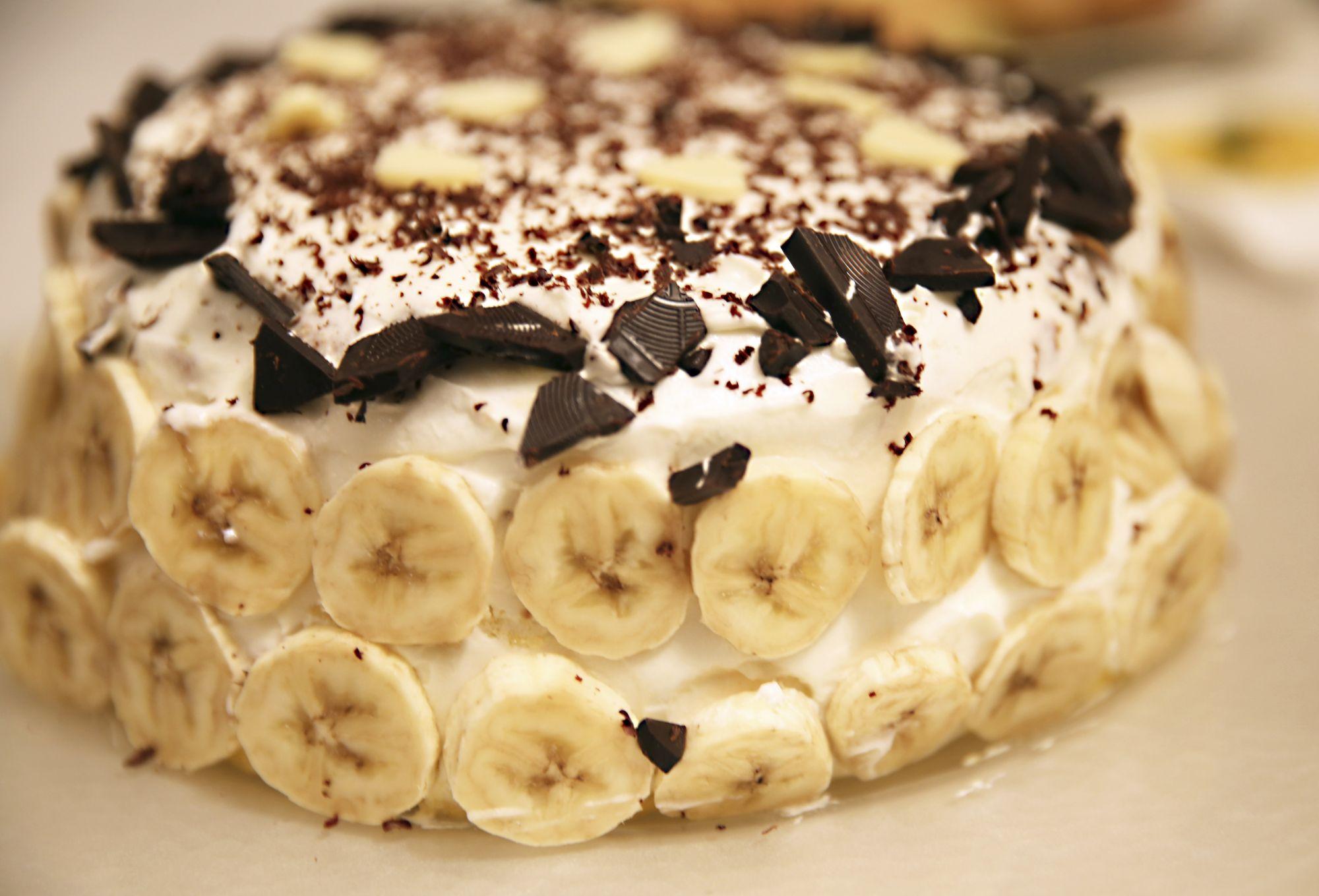 Bananen Schoko Sahnetorte 4 9 5