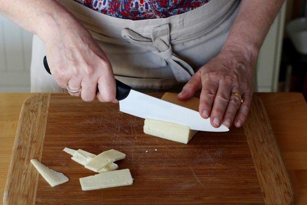 Käse schneiden