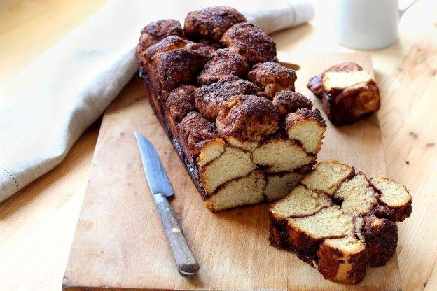 Rezept für Monkey Bread (Brioche mit karamellisiertem Zimt und ...