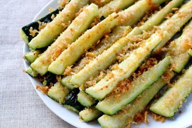 Rezeptanleitung f r knackige zucchini pommes mit parmesan - Cuisiner des aubergines au four ...