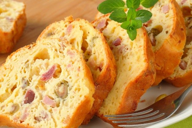Cakes Sale Jambon Olives