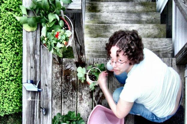 Pflanzen zum Sprießen bringen