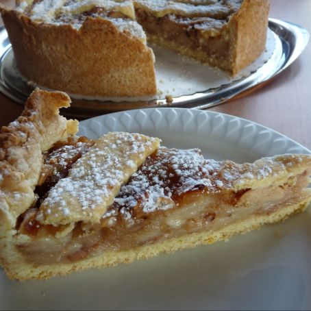 Apfel Marzipan Kuchen 3 9 5