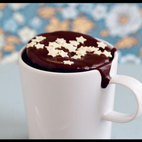 schokoladenkuchen aus der mikrowelle 4 3 5. Black Bedroom Furniture Sets. Home Design Ideas