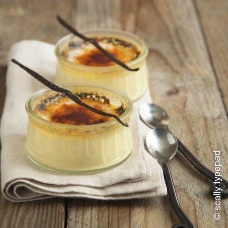 Original französische Crème brûlée