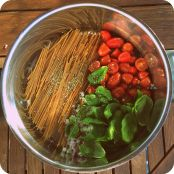 One-Pot Pasta nach Martha Stewart