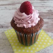 Mohn-Himbeer-Cupcakes
