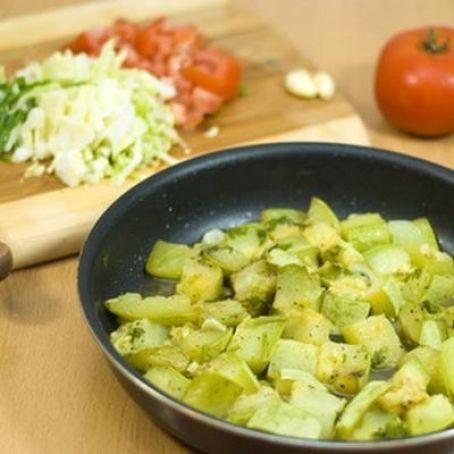 Schneller Zucchini - Auflauf (4.9/5)