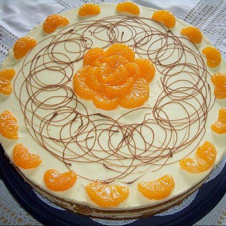 Karotten Orangencreme Torte 3 8 5