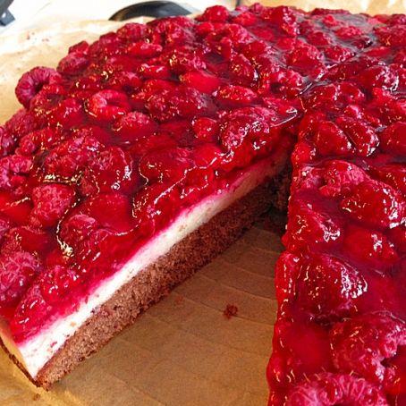Himbeer Griess Torte 3 9 5