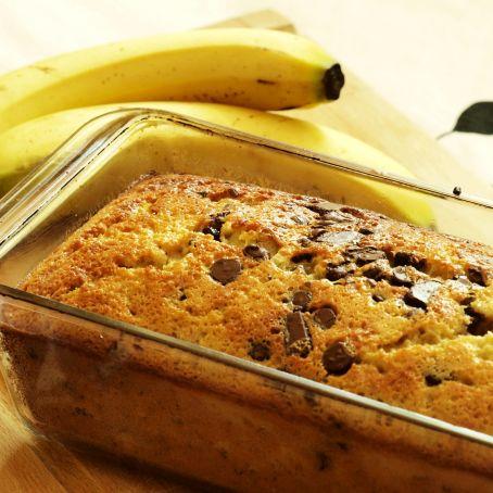 Bananenbrot mit Schokostücken (4.6/5)