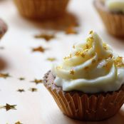 Golden-Star-Cupcakes