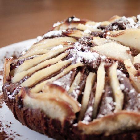 Birnen Nutella Kuchen 3 2 5