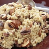 Champignon Risotto light