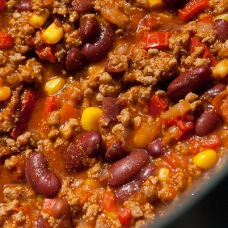 Feuriges Chili Con Carne 45