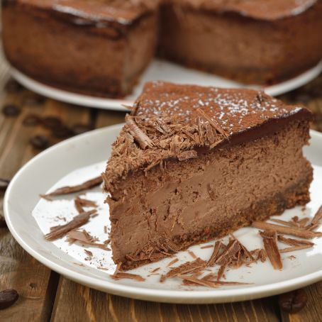 Schokoladen Cheesecake 4 5