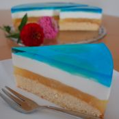 Blue Hawaii Torte