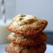Chocolate Chip Cookies mit Oreo-Keksen