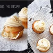 Weiche EARL GREY-Cupcakes mit leckerem FROSTING!
