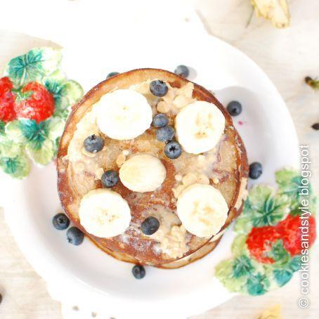 zitrus buchweizen pancakes mit erdnussbutter und banane 3