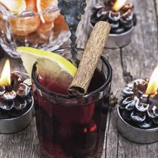 Traditioneller Glühwein