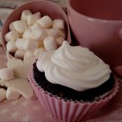 Chocolate & Marshmallow Cupcake