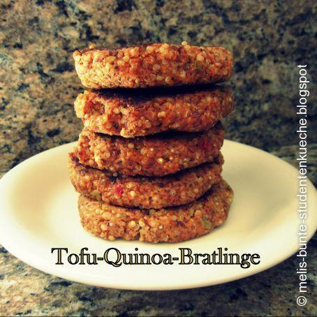tofu quinoa bratlinge 3 8 5. Black Bedroom Furniture Sets. Home Design Ideas