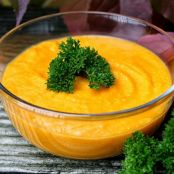 Curry-Möhrensuppe