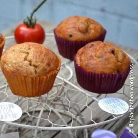 Tomaten Oliven Rosmarin Muffins 45