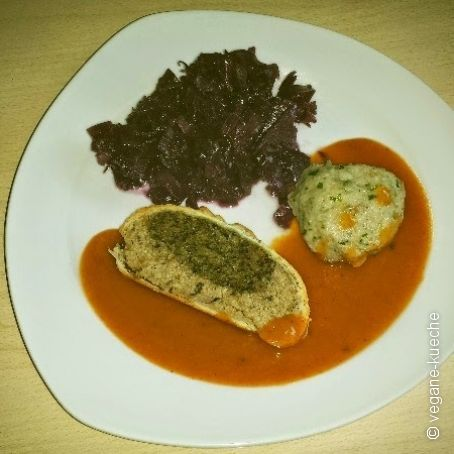 Paranußbraten in Blätterteig vegan