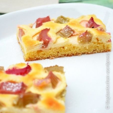 Rhabarber Quark Kuchen 5 5