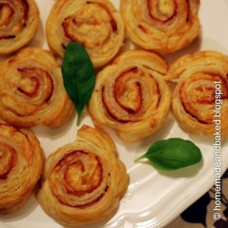 Schnelle Schinken Käse Schnecken 335