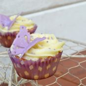 Helle Schmetterlings-Cupcakes
