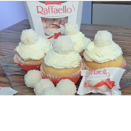 Raffaello cupcake (4/5)