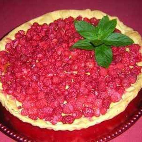 Fruchtige Himbeertarte Aus Blatterteig Ruck Zuck Rezept 3 6 5