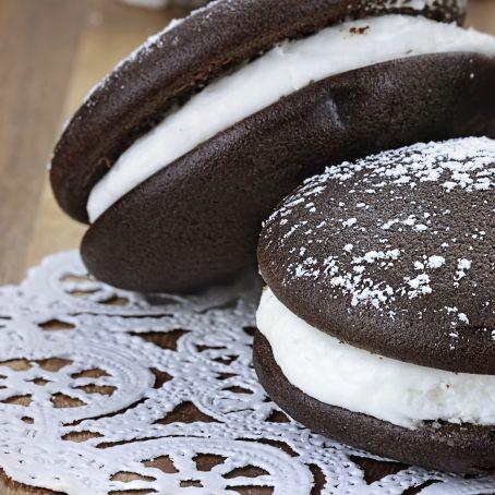 Vanille Whoopie Pies Mit Marshmallow Fullung 5 5