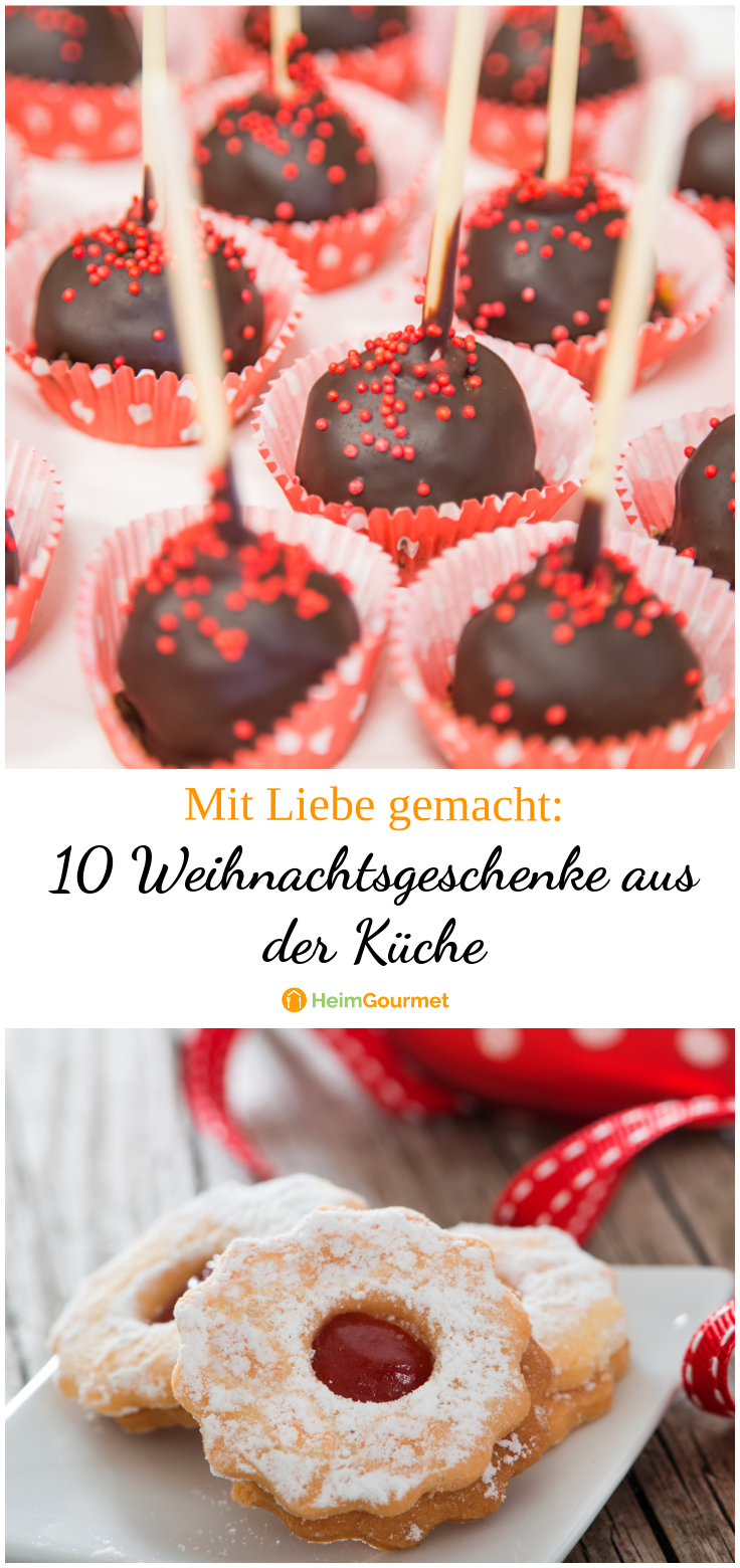 10 Weihnachtsgeschenke aus der Küche