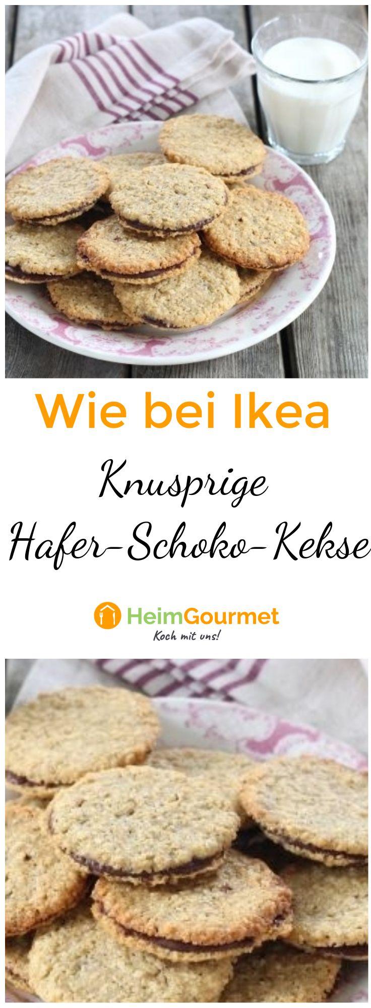 Knusprige Hafer Schokokekse Wie Bei Ikea