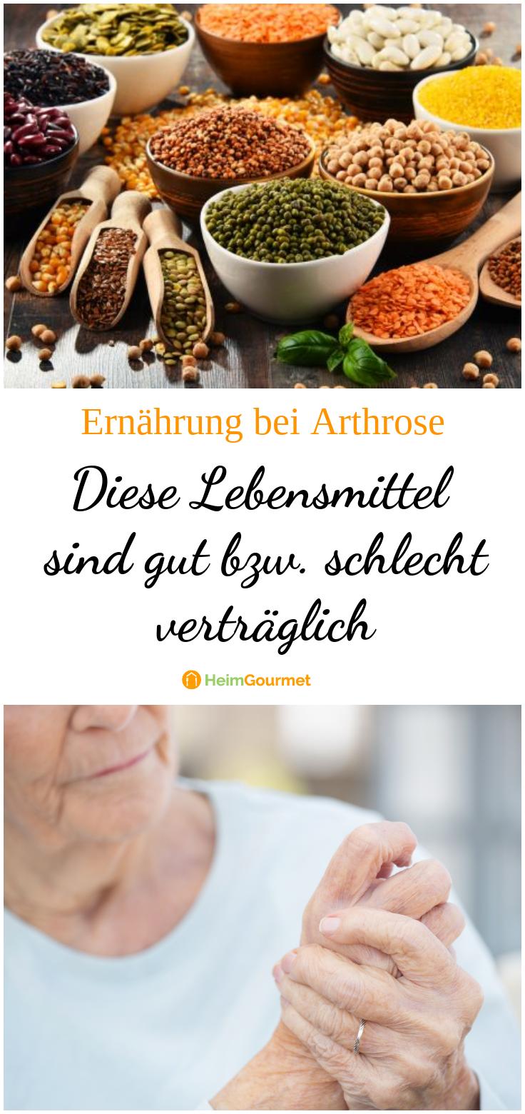 Lebensmittel Bei Arthrose