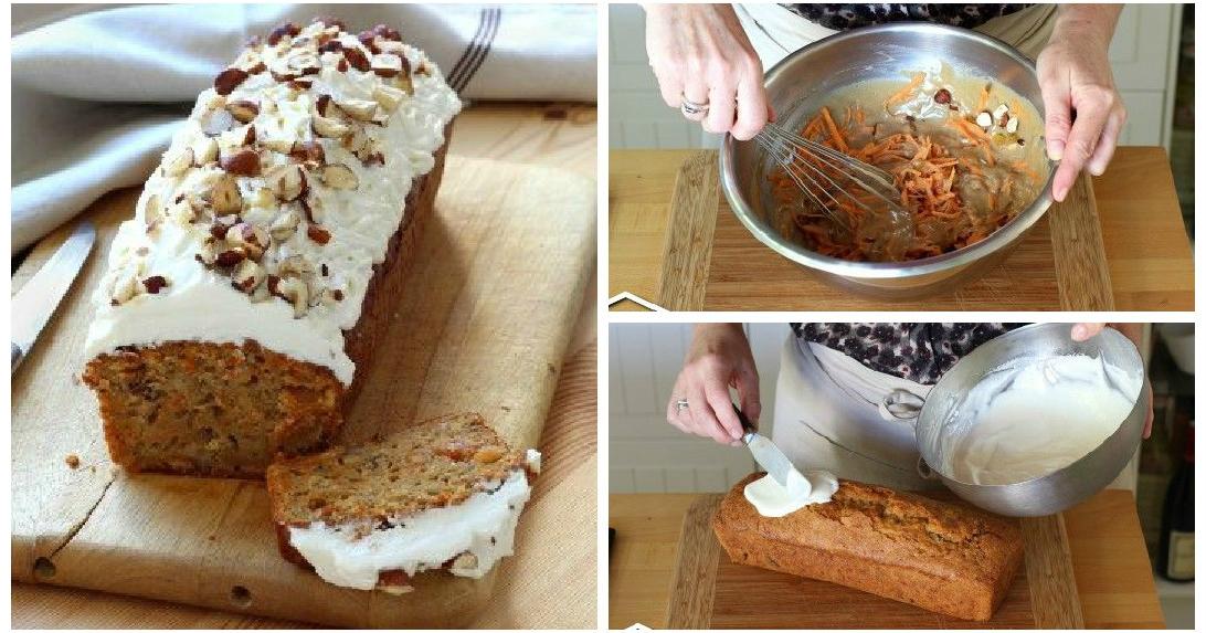 Genial Einfach Rezept Fur Carrot Cake Wie Von Starbucks