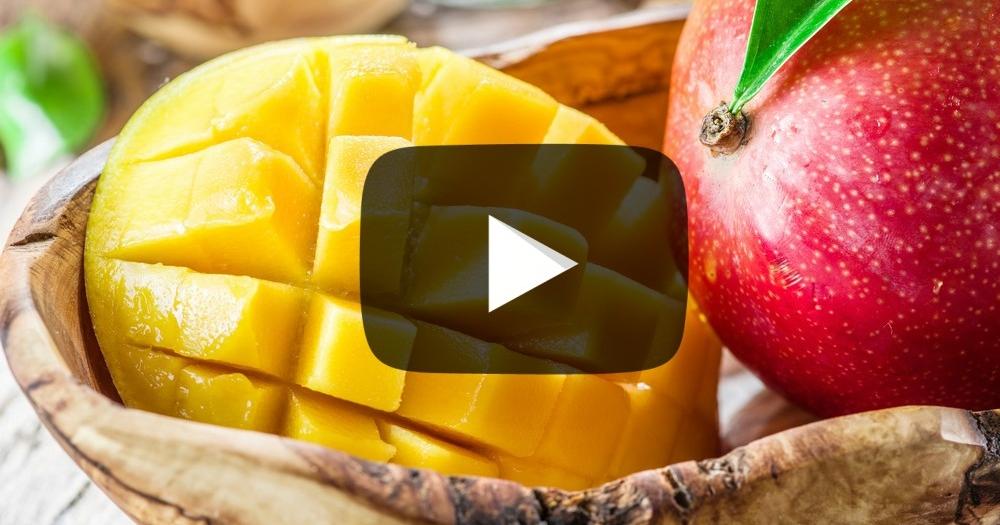 Mangos Schälen