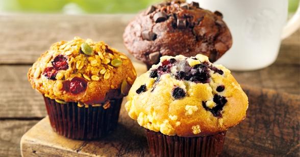 die 10 besten rezepte f r muffins. Black Bedroom Furniture Sets. Home Design Ideas