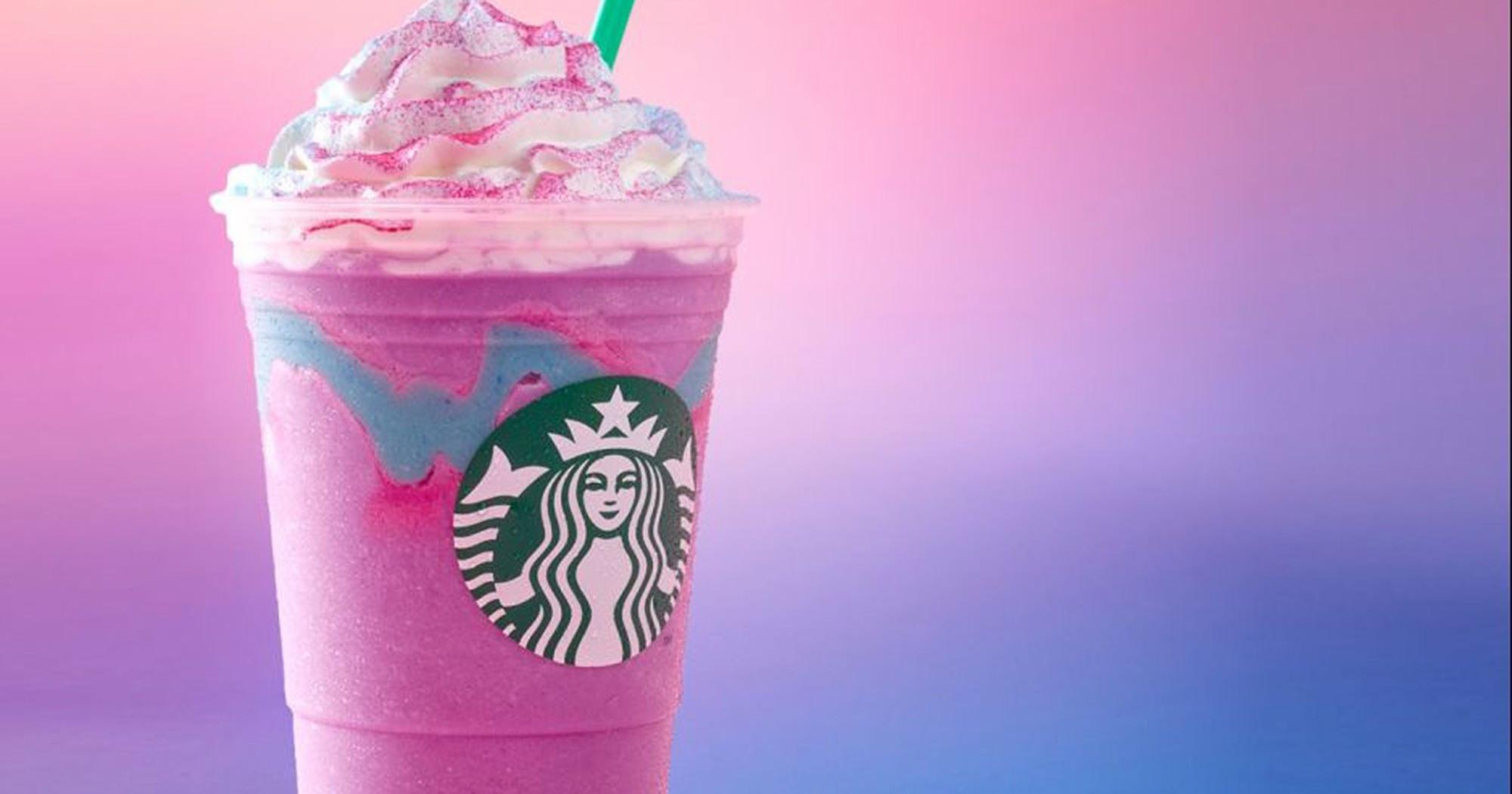 NEU: Der EINHORN-FRAPPUCCINO bei Starbucks