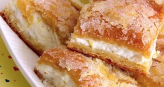 Kuchen In Quadratform Mit Zitrone Und Philadelphia Der Perfekte Snack