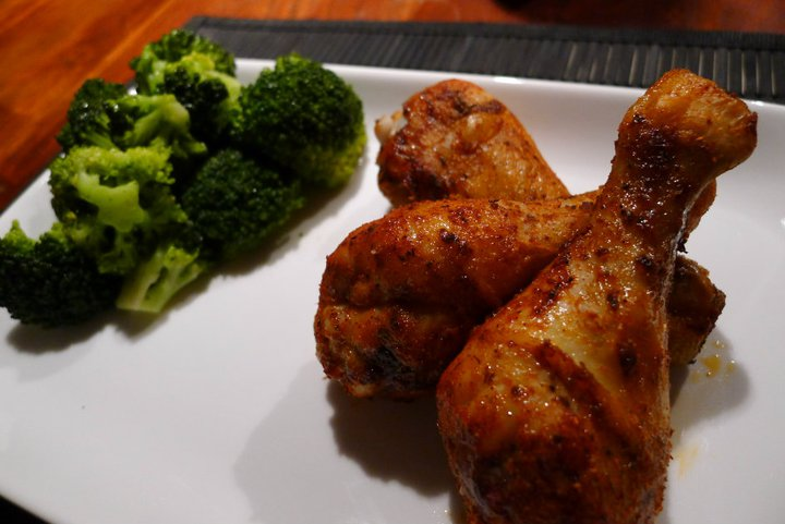 Diät Hühnchen Drumsticks Rezepte