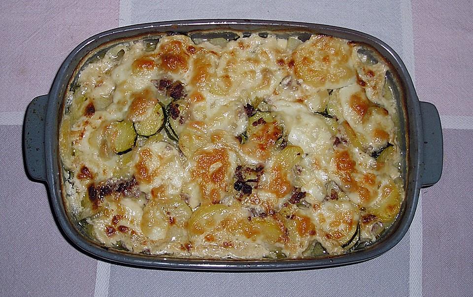 Rezept fur auflauf mit zucchini