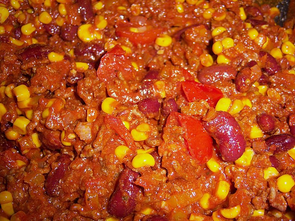Chili Con Carne Mit Rinderhackfleisch 225
