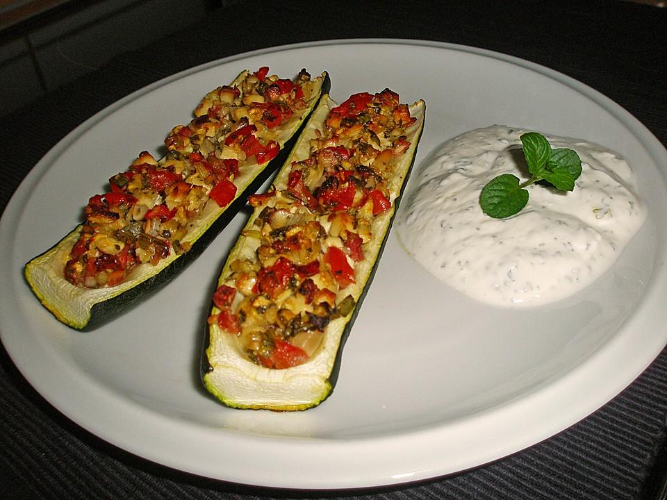 Leckere Rezepte Für Gefüllte Zucchini Vegetarisch